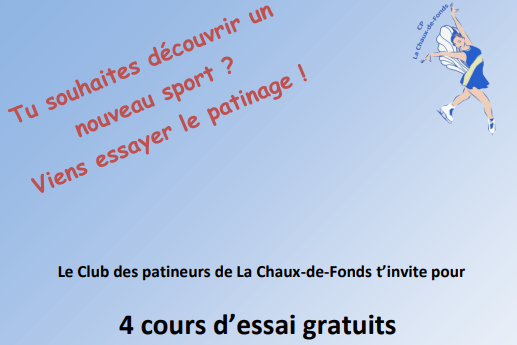 You are currently viewing Viens essayer le patinage !